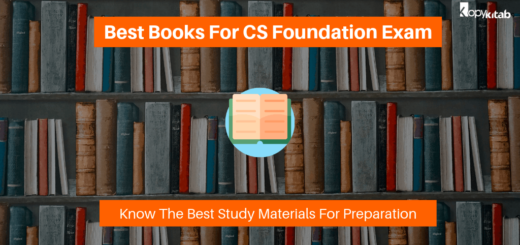 Best Books For CS Foundation Exam