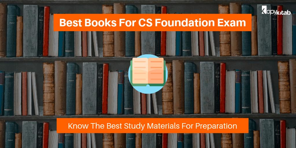 Best Books For CS Foundation Exam