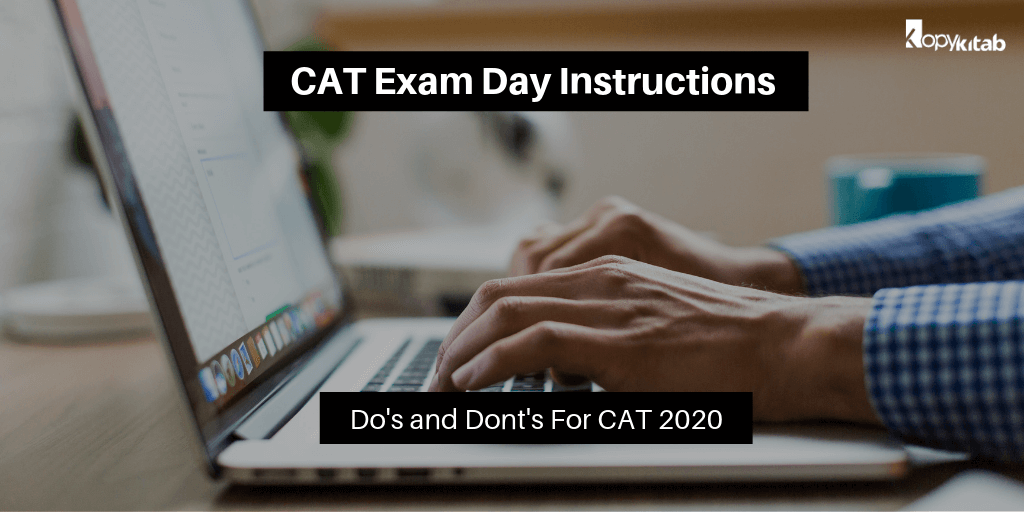 CAT Exam Day Instructions