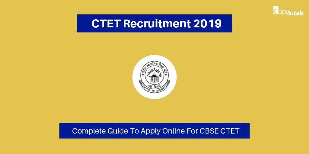 CTET Recruitment 2019