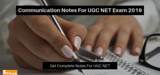 Communication Notes For UGC NET Exam 2019
