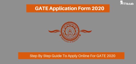GATE Application Form 2020