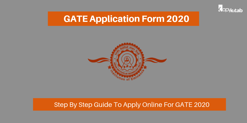 GATE Application Form 2020