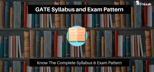 GATE Syllabus and Exam Pattern