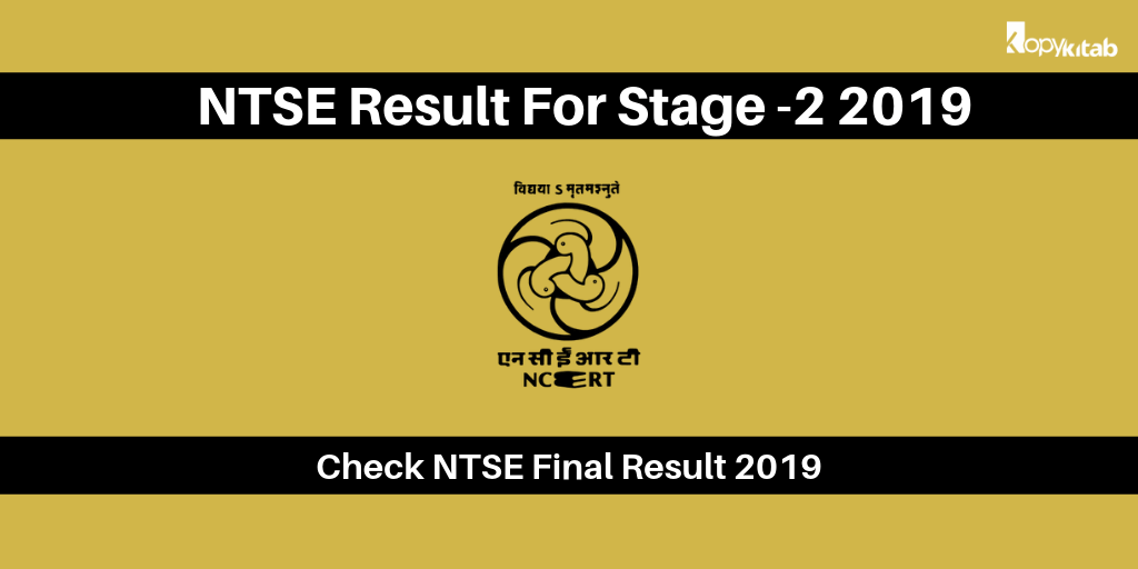 NTSE Result 2019