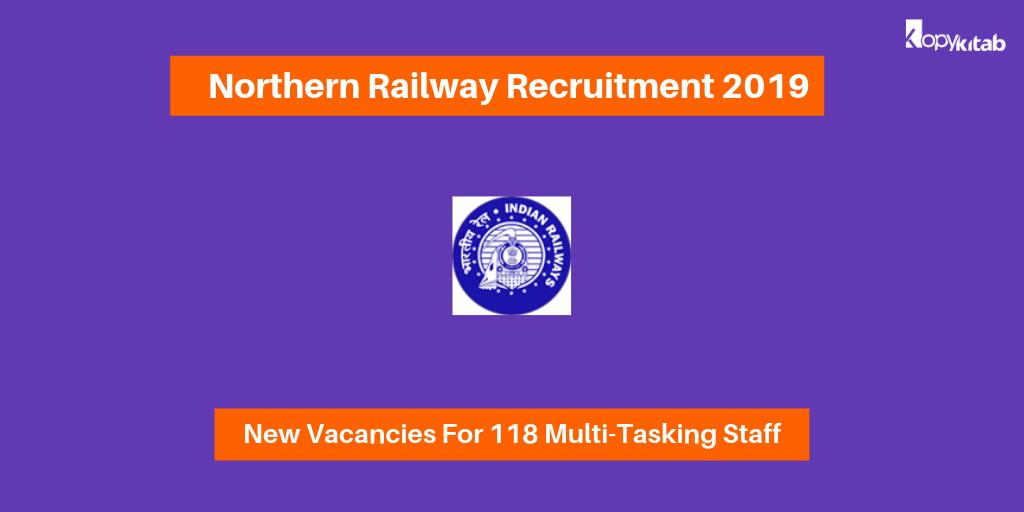 Northern Railway Recruitment 2019