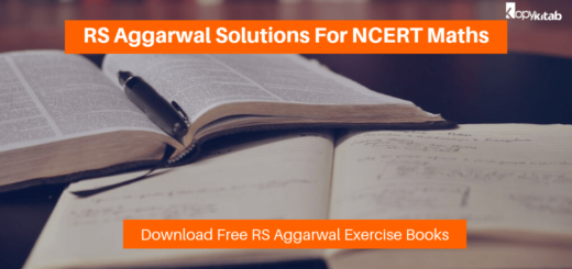 RS Aggarwal Solutions for NCERT Maths Exercise Book