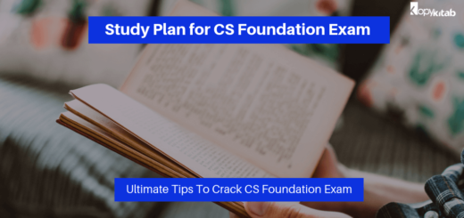 Study Plan for CS Foundation Exam 2019