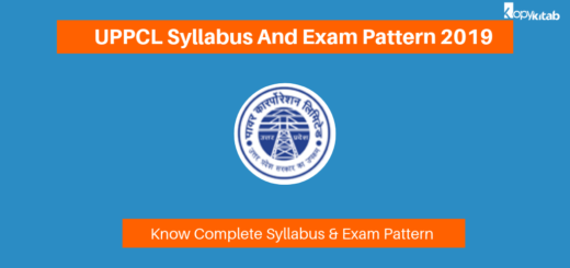UPPCL Syllabus And Exam Pattern 2019