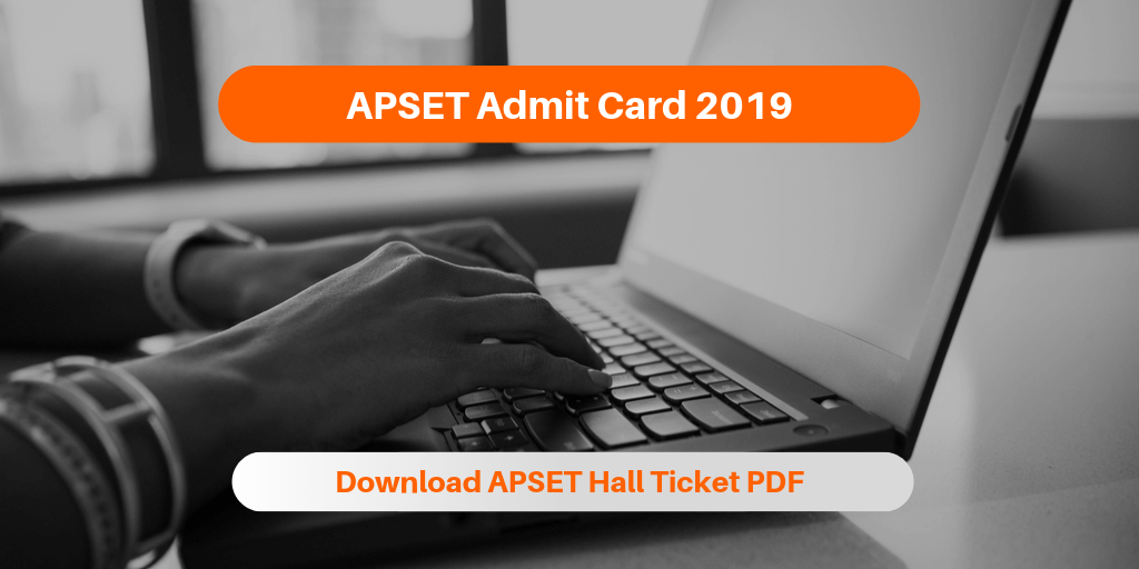 APSET Admit Card 2019