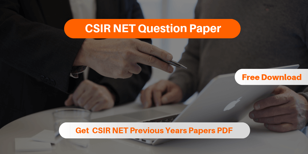 CSIR NET Question Paper