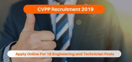 CVPP Recruitment 2019