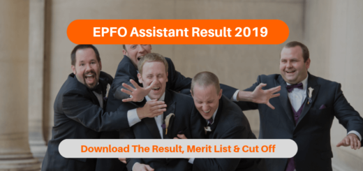 EPFO Assistant Result 2019