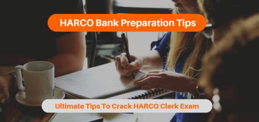 HARCO Bank Preparation Tips