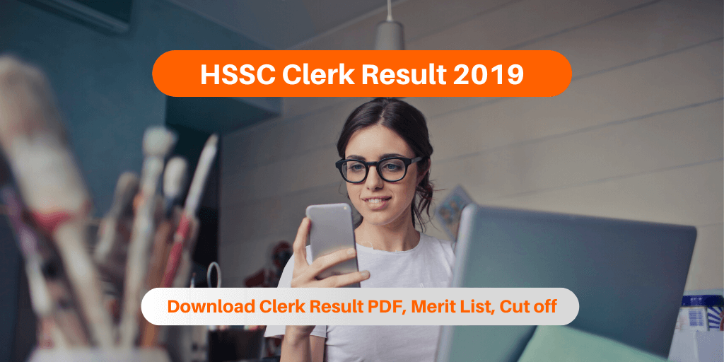 HSSC Clerk Result 2019