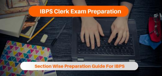 IBPS Clerk Exam Preparation
