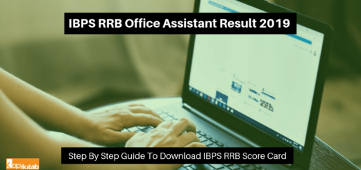 IBPS RRB Office Assistant Result 2019
