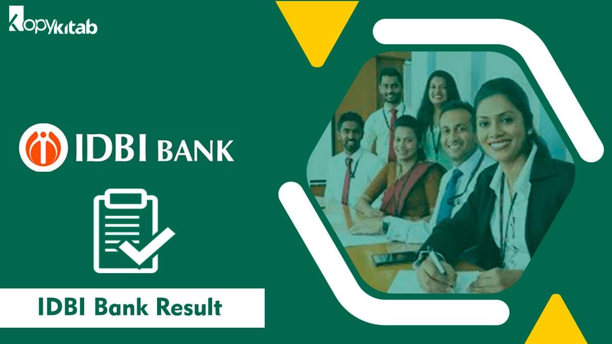 IDBI Bank Result