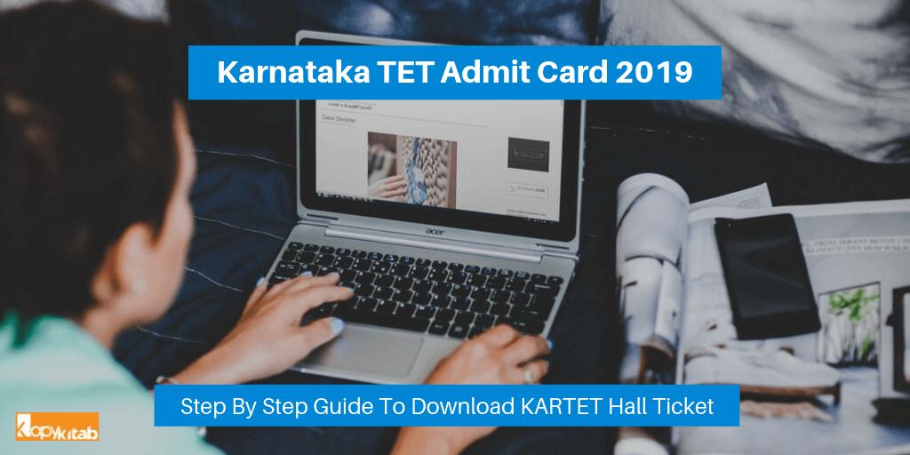 Karnataka TET Admit Card 2019