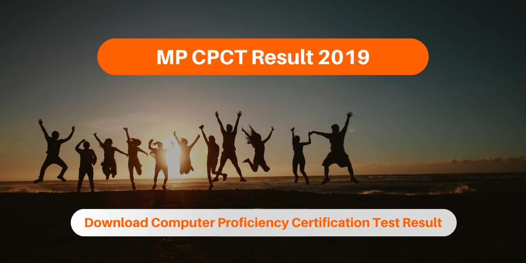 MP CPCT Result 2019