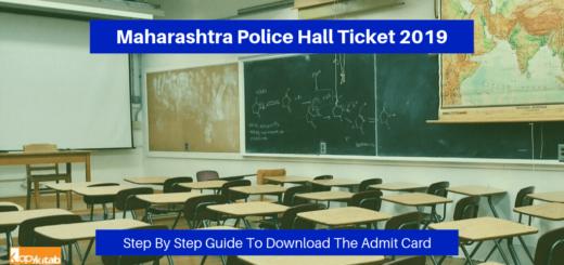 Maharashtra Police Hall Ticket 2019