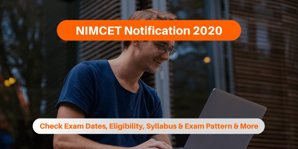 NIMCET Notification 2020