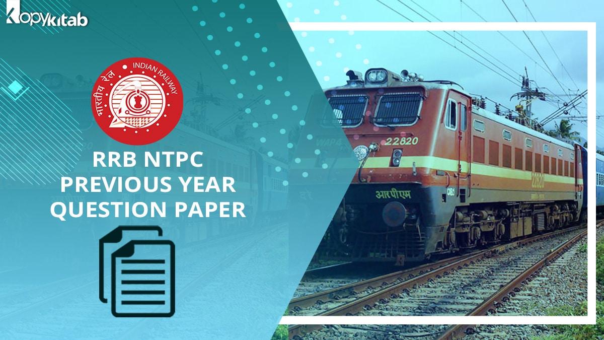 RRB NTPC Question Paper