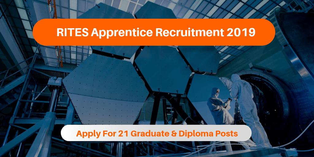 RITES Apprentice Recruitment 2019
