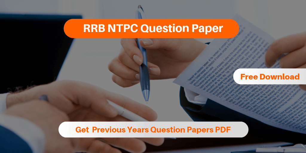 RRB NTPC Question Paper