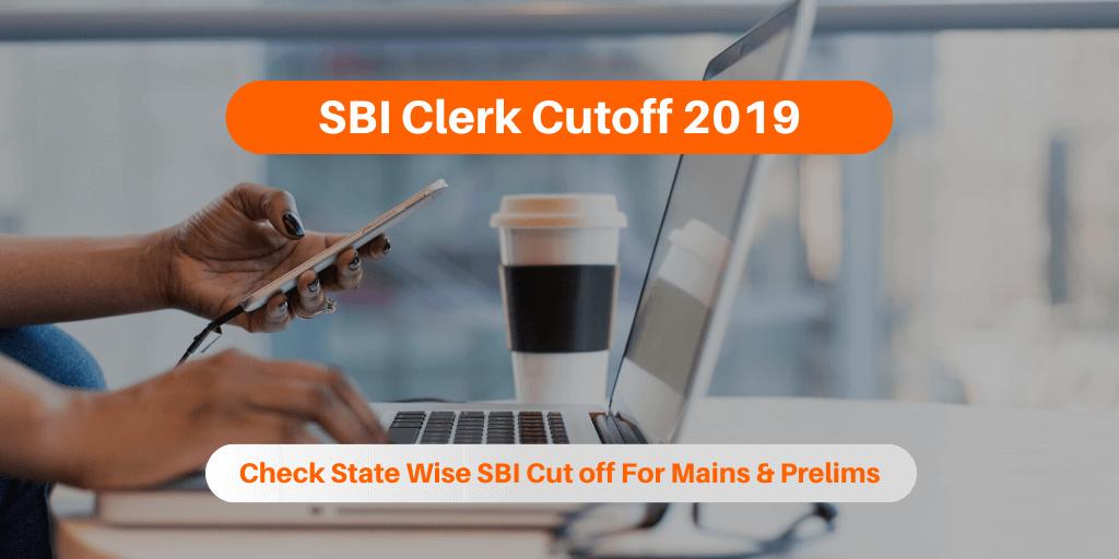 SBI Clerk Cutoff 2019