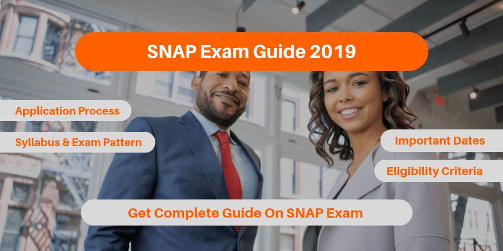 SNAP Exam Guide 2019