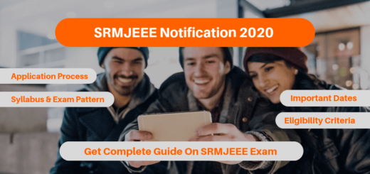 SRMJEEE Notification 2020