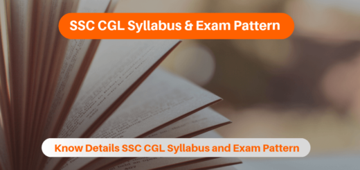 SSC CGL Syllabus & Exam Pattern