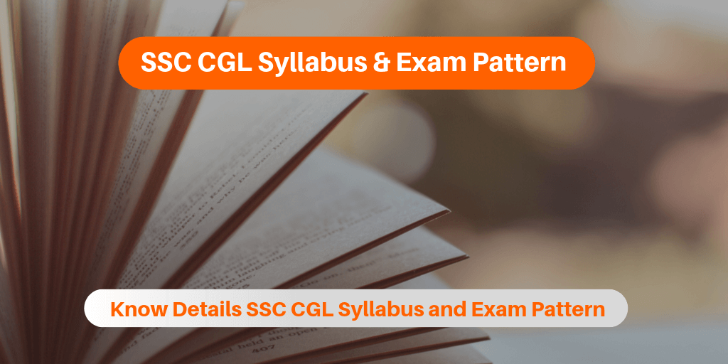 SSC CGL Syllabus & Exam Pattern