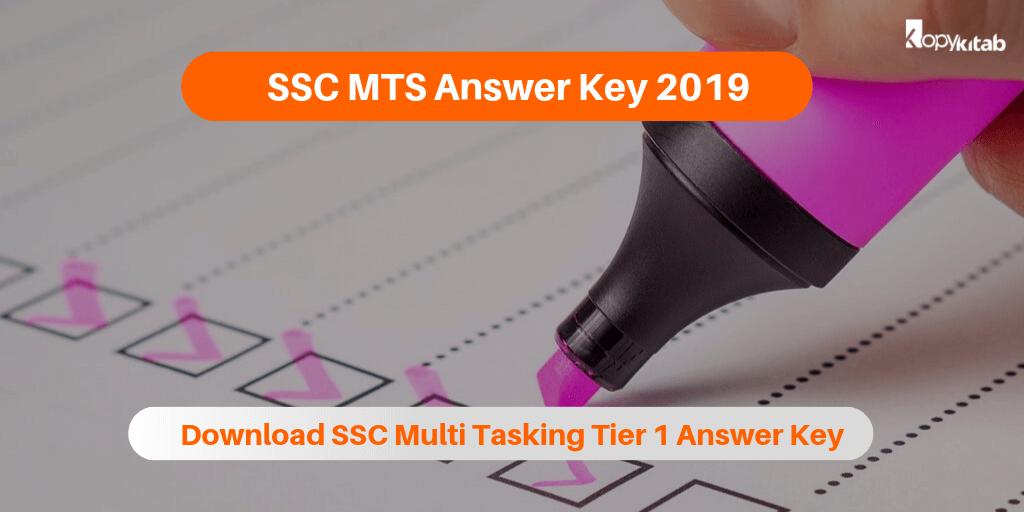SSC MTS Answer Key 2019