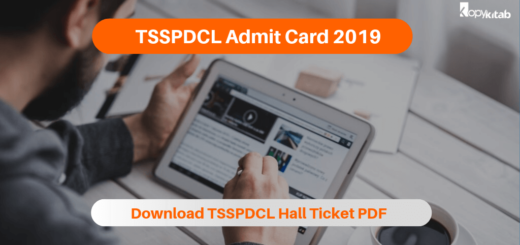 TSSPDCL Admit Card 2019