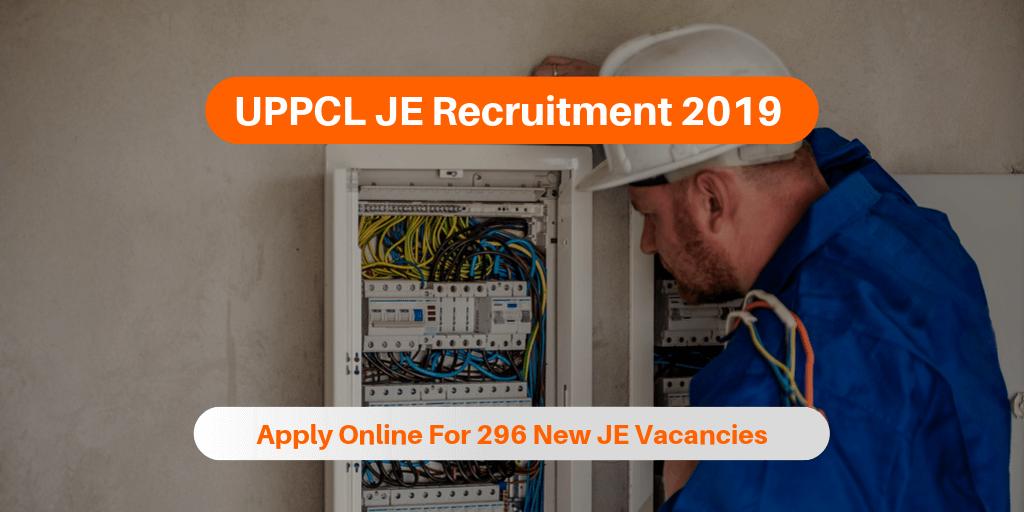 UPPCL JE Recruitment 2019