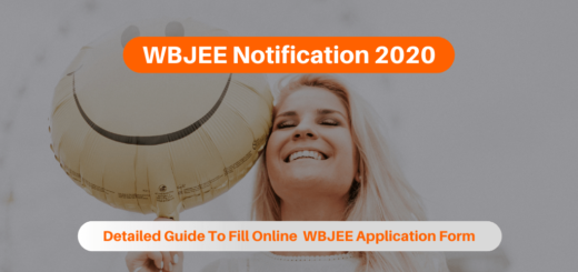 WBJEE Notification 2020