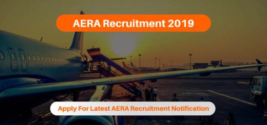 AERA Recruitment 2019