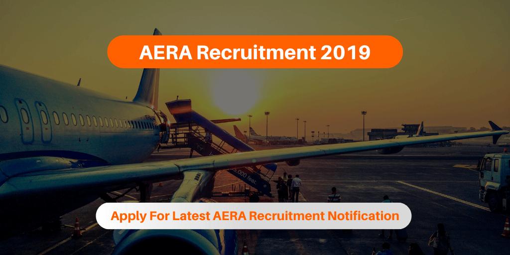 AERA Recruitment 2019