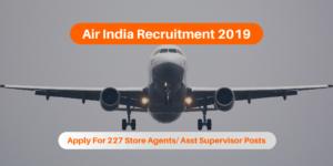 AIESL Air India Recruitment 2019