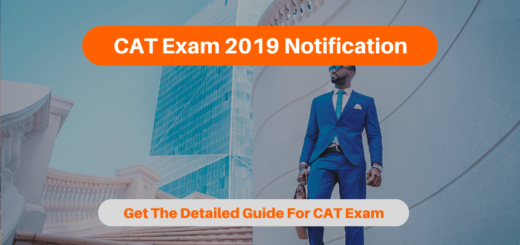 CAT Exam 2019 Notification