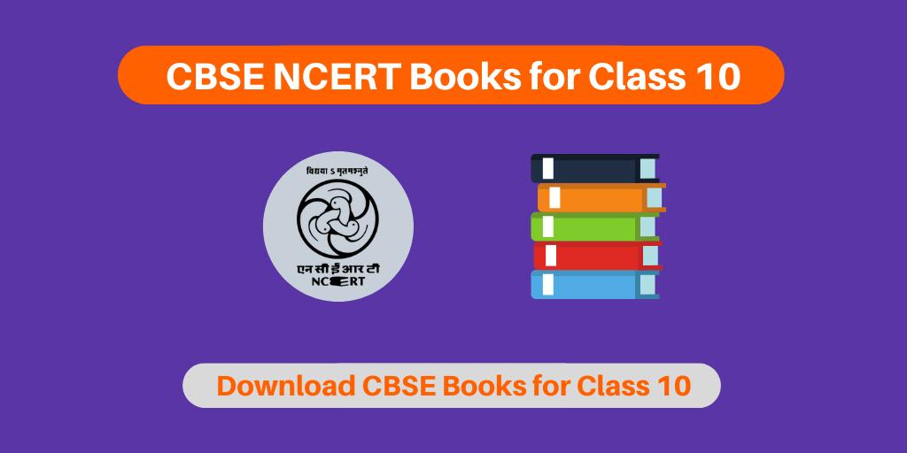 CBSE NCERT Books for Class 10