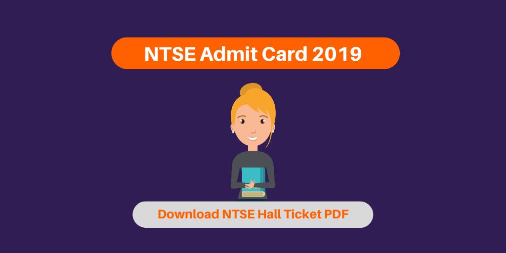 NTSE Admit Card 2019