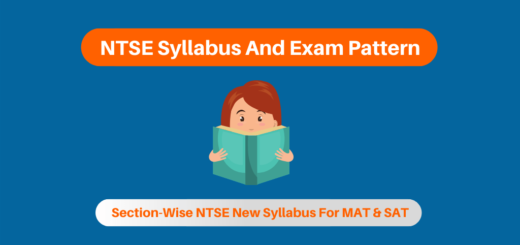 NTSE Syllabus And Exam Pattern