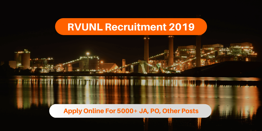 RVUNL Recruitment 2019