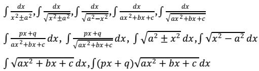 integrals class 12 maths