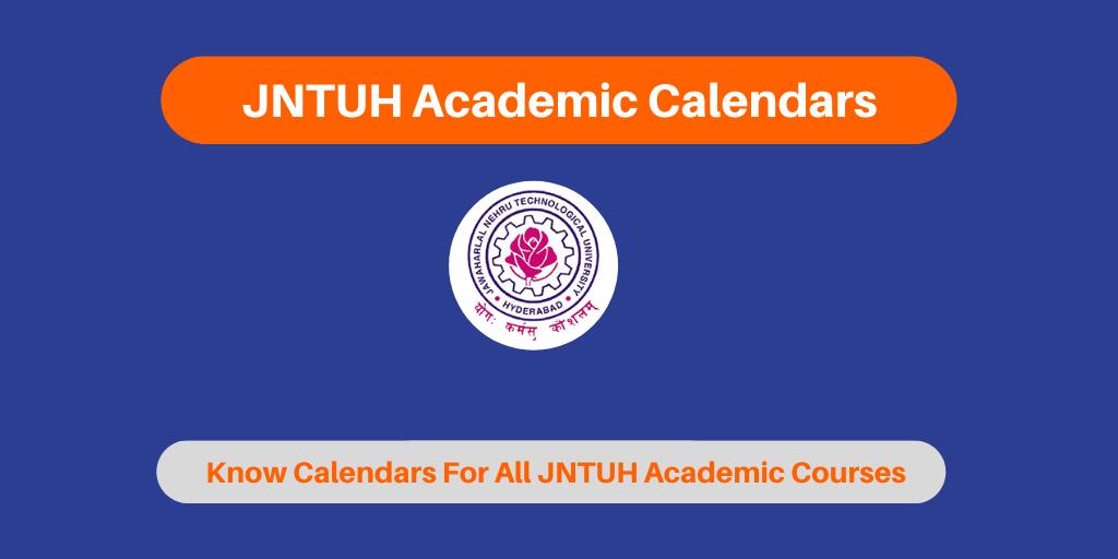 JNTUH Academic Calendars