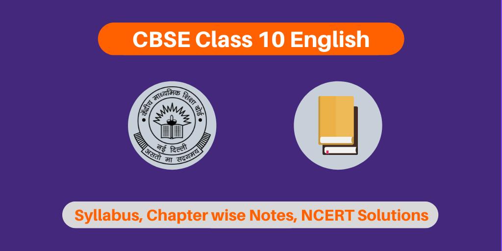 CBSE Class 10 English
