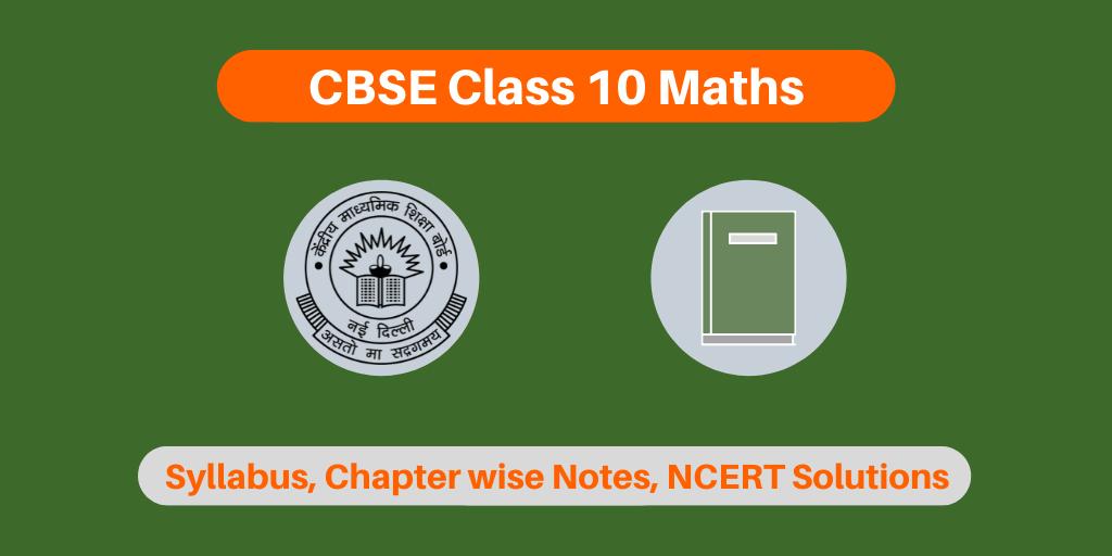 CBSE Class 10 Maths